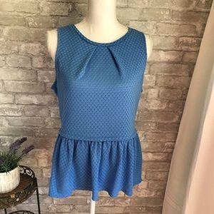 Elle Blue Blouse